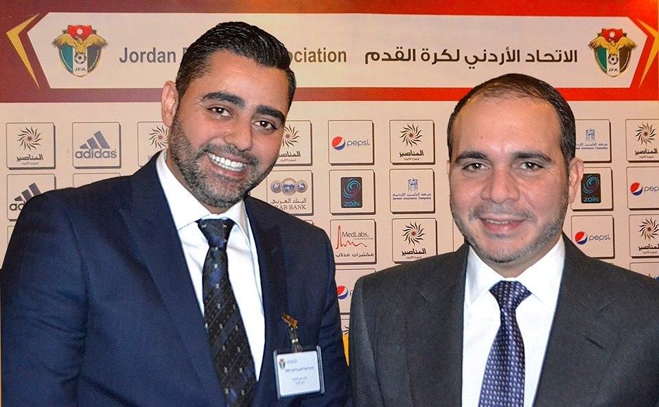 الأمير علي رئيسا لاتحاد كرة القدم والطباع نائبا بالتزكية