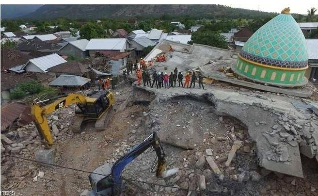 زلزال جديد يضرب إندونيسيا