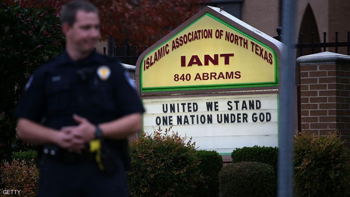 امريكا : حرق مسجد في تكساس