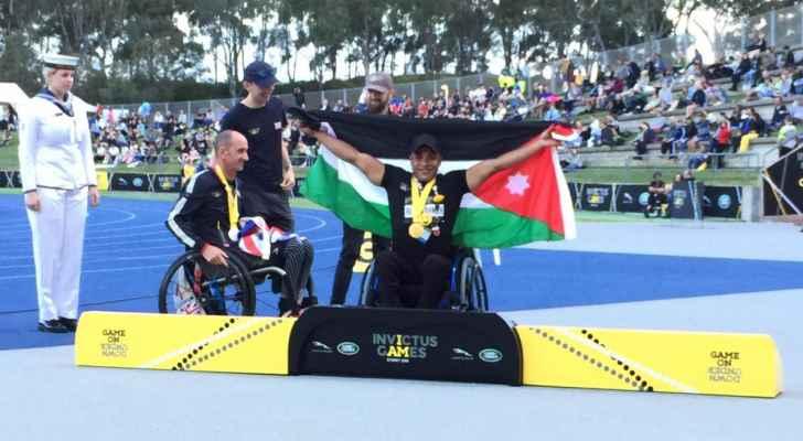 الأردن يحصد 5 ميداليات ذهبية في دورة الألعاب الدولية للمصابين العسكريين