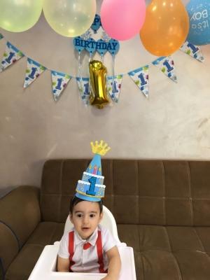 """""""حسام اسامة الراميني """" يطفئ شمعته الاولى  .. عيد ميلاد سعيد"""