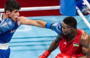 خسارة مفاجئة للاعب الملاكمة زياد عشيش في اولمبياد طوكيو