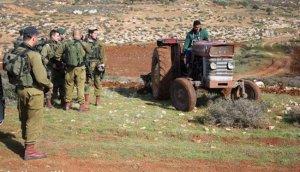 الاحتلال يستولي على عشرات الدونمات من أراضي قرية الجبعة