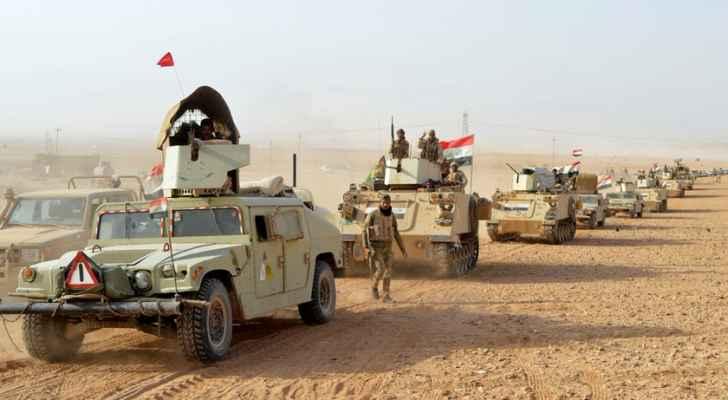 """العراق يطارد بقايا """"داعش"""" على الحدود الأردنية"""