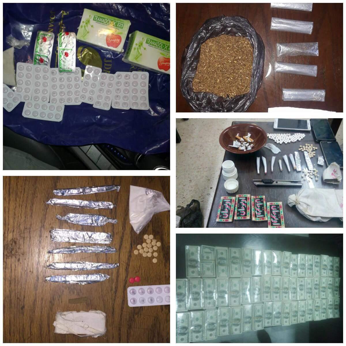 ادارة مكافحة المخدرات تواصل حملاتها على مروجي المواد المخدرة ، وتضبط خلال الايام الماضية 22 شخصا خلال 16 قضية تم التعامل معها .