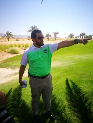 العبداللات يشارك في دولية السعودية للجولف