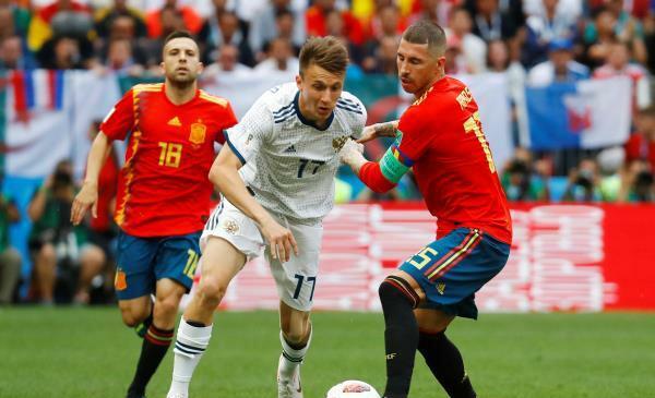 ركلات الترجيح تنقل روسيا إلى ربع نهائي المونديال على حساب إسبانيا