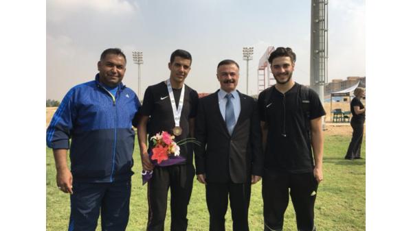 برونزية للأردن في البطولة العربية للدراجات