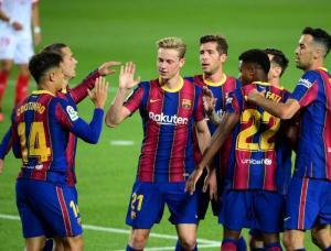 ميسي يُعيد برشلونة للانتصارات أمام إلتشي
