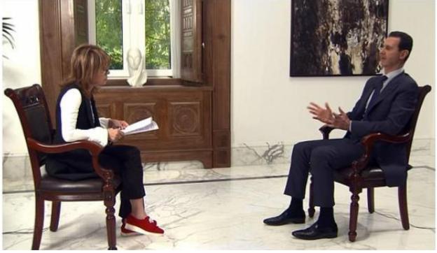 الأسد: الوجود الروسي والإيراني في سورية مشروع