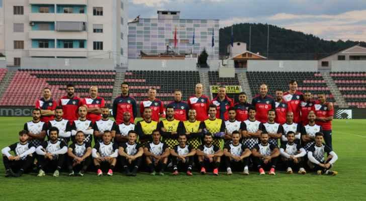 منتخبنا الوطني ينهي استعداداته لمواجهة ألبانيا الليلة
