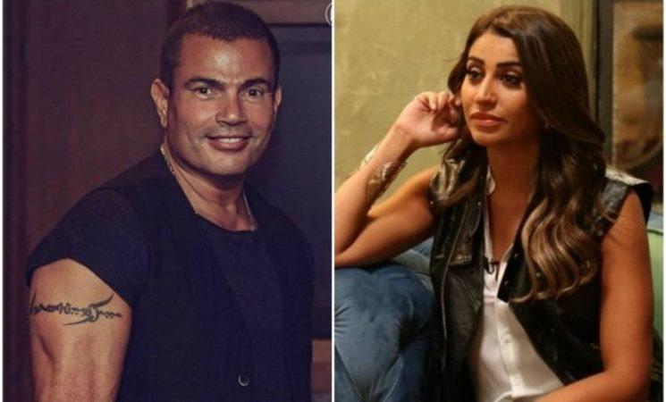 أنباء حول التحضير لزفاف عمرو دياب ودينا الشربيني خارج مصر