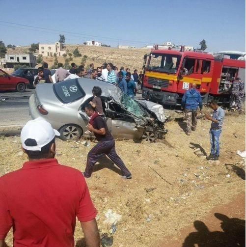 5 اصابات بحادث سير في الزرقاء