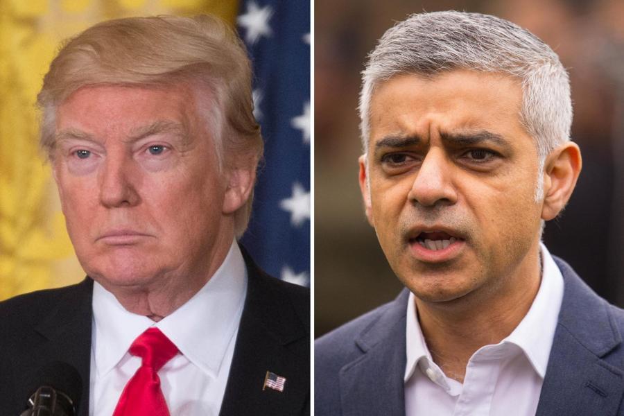 """بعد أن ألغاها .. عمدة لندن: ترامب """"تلقى الرسالة"""" حول معارضة زيارته لبريطانيا"""