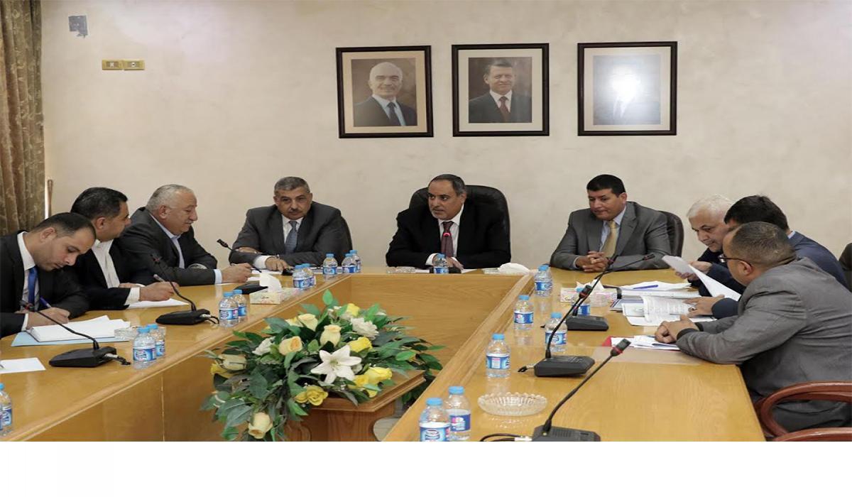 الفناطسة يلتقي أمين الاتحاد العربي لعمال النفط