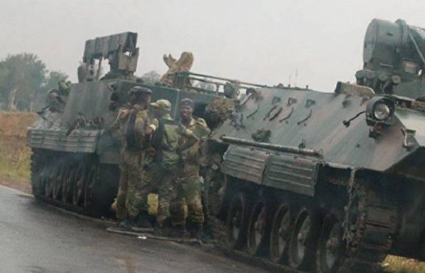 جيش زيمبابوي يعلن سيطرته على السلطة