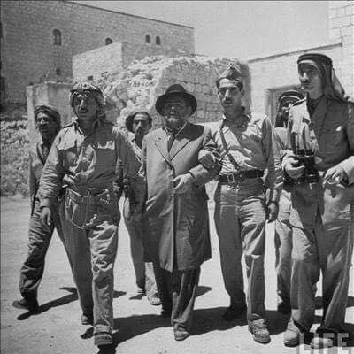 إربداوي ..  تدخـَّـل مجلس الأمن ليمنع الكتيبة السادسة التي يقودها من تحرير القدس الغربية