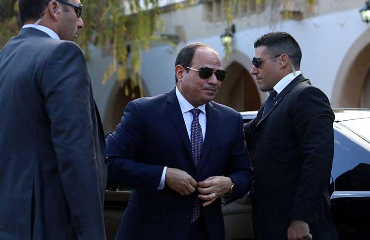 """السيسي يقدم """"كشف حساب"""" في مؤتمر ينطلق الأربعاء بالقاهرة"""