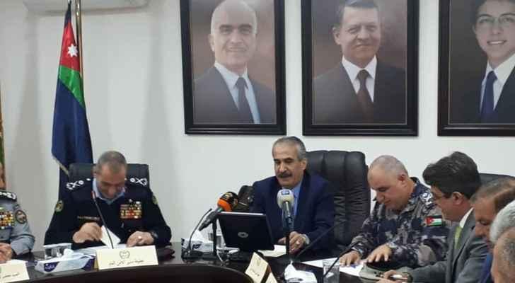 """وزير الداخلية: الاردنيين اصحاب """"مزاج"""" معتدل وهادئ"""