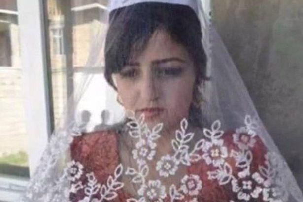 عروس تنتحر بجرعة خل بعد 40 يوماً من زواجها!!   ..  صور