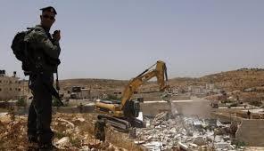 الاحتلال يهدم منزلا في قرية الزعيّم شرق القدس المحتلة