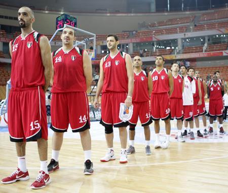 منتخب السلة يلتقي نظيره الايراني بكاس اسيا