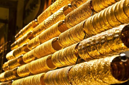 ارتفاع الذهب 40 قرشاً خلال يوم واحد