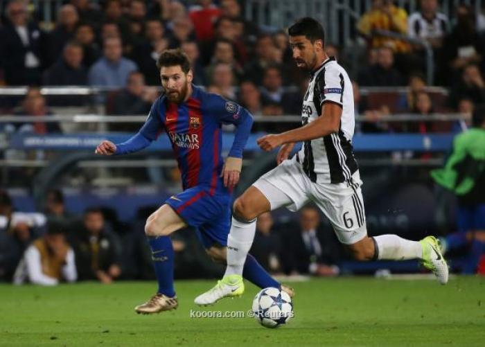 يوفنتوس يحبط محاولات برشلونة ويتأهل لنصف النهائي