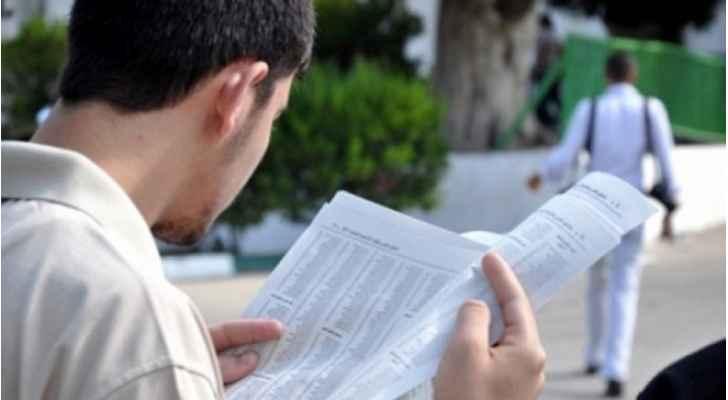 """إعلان نتائج """"التوجيهي"""" الجمعة 10 آب"""
