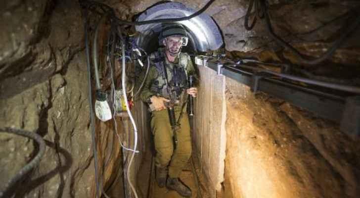 الاحتلال يكشف أطول وأعمق نفق على حدود غزة