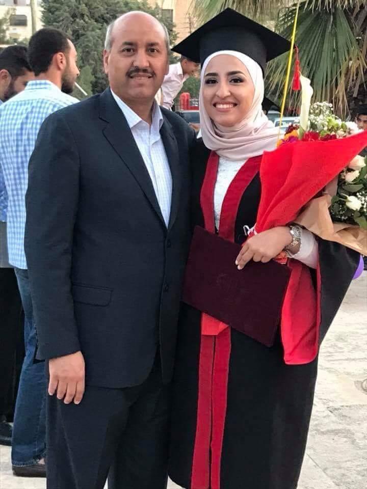 لميس الزيود  ..  مبروك التخرج والنجاح