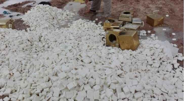 إتلاف نصف طن جبنة بيضاء فاسدة في معان