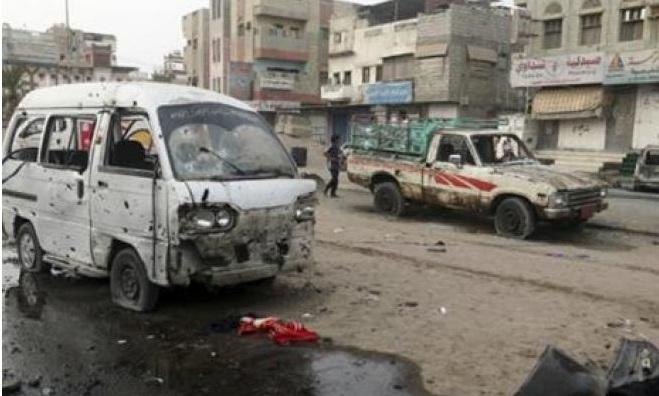 عشرات القتلى والجرحى بهجوم على حافلة تقل أطفالا في اليمن