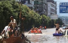 مصرع وفقدان 36 شخصا جراء الفيضانات شمال شرق الصين
