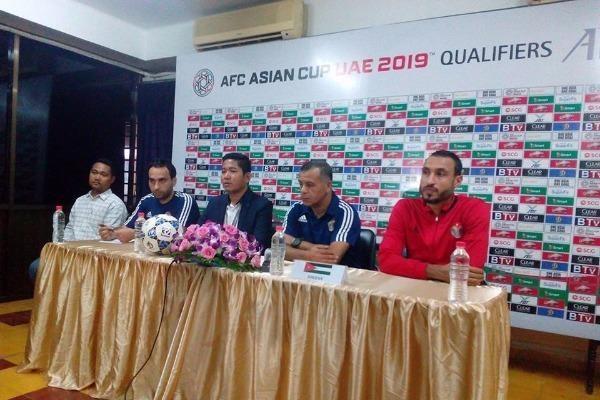 مدرب الأردن: جئنا للفوز على كمبوديا
