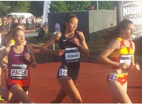 عرموش تكسر الرقم الأردني لسباق ١٠ آلاف متر