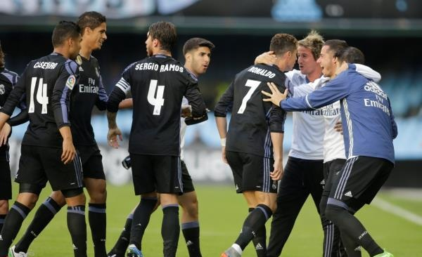 ريال مدريد يسحق سيلتا فيجو ويلامس لقب الليجا