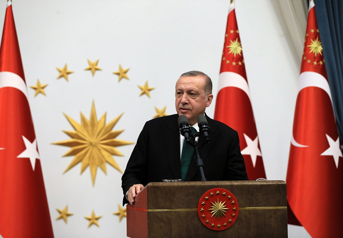 """أردوغان: لن نسمح قط بأن تغتصب القدس من قبل """"إسرائيل"""""""