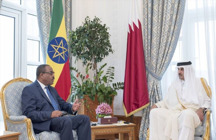 قطر وإثيوبيا توقعان 3 اتفاقيات أحدها حول التعاون الدفاعي