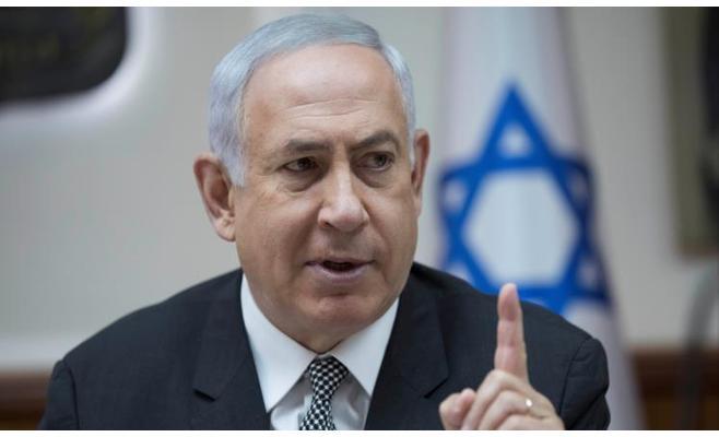 نتنياهو يطالب ماكرون بتعديل الاتفاق النووي الإيراني