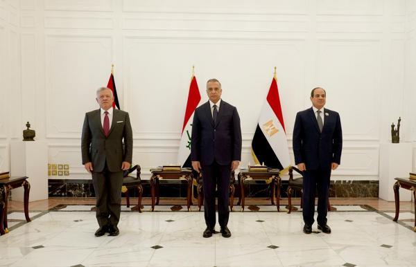 بدء أعمال القمة الأردنية المصرية العراقية في بغداد (صور)