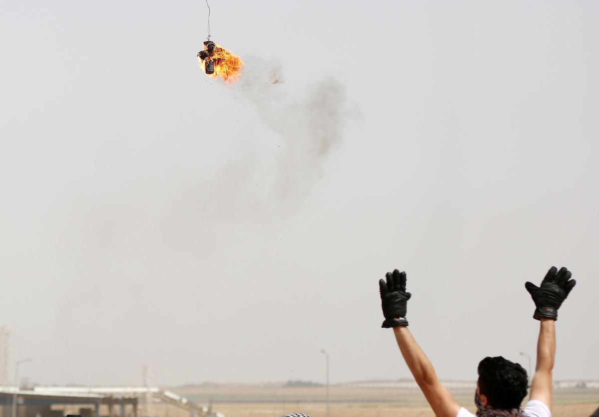 وحدة البالونات الحارقة تهدد بالتصعيد ردًا على تشديد الحصار