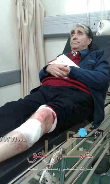 الفنان صلاح تيزاني يتعرض لحادث سير مروع