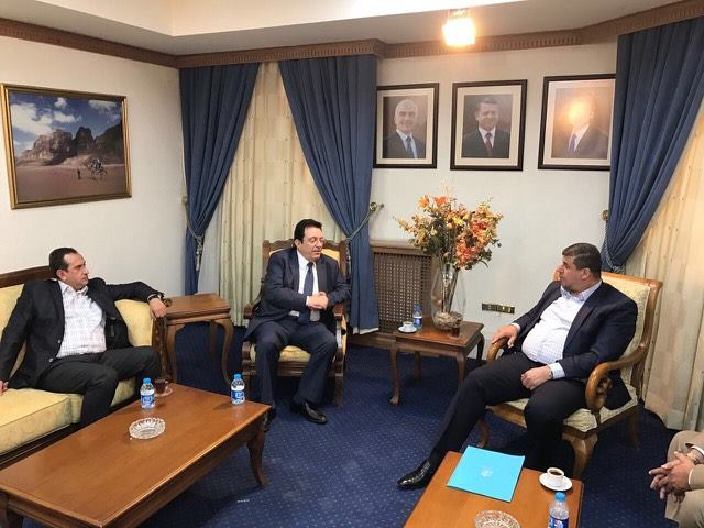 """لجنة فلسطين النيابية  تكرم شركة """"جت"""" لدعمها """"الأشقاء الفلسطينيين"""""""