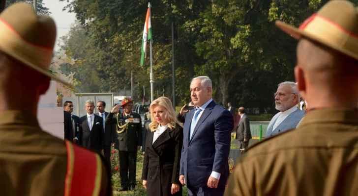 نتانياهو يصل نيودلهي