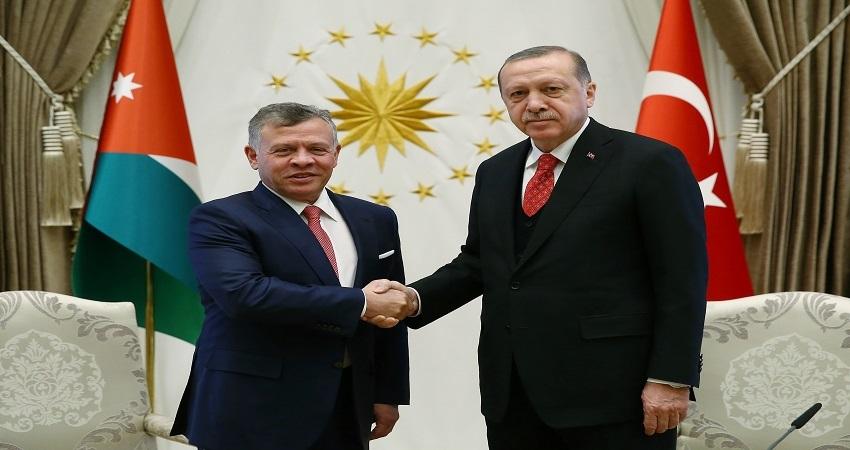 أردوغان للملك: أتمنى النجاح للرزاز