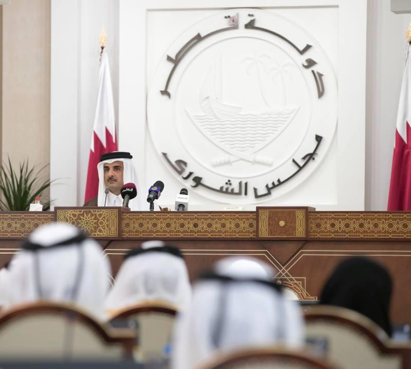 أمير قطر: لا نخشى مقاطعة دول الحصار ..  ونحن بألف خير بدونهاـ (فيديو)