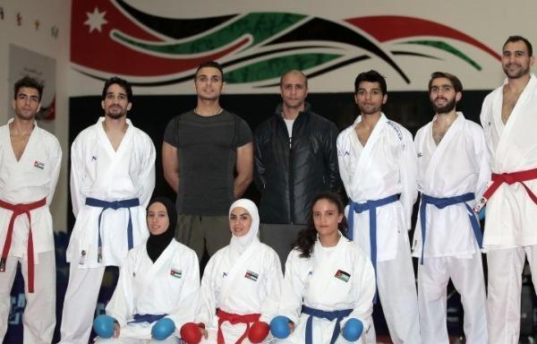 المنتخب الأردني للكاراتيه يتوجه إلى إسبانيا