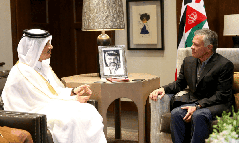 قطر تدعم الأردن بتوفير عشرة آلاف فرصة عمل و ٥٠٠ مليون دولار