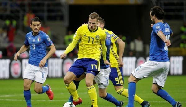 إيطاليا تفشل في فك شفرة السويد والتأهل لكأس العالم